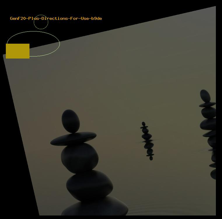 GenF20 Plus Directions For Use