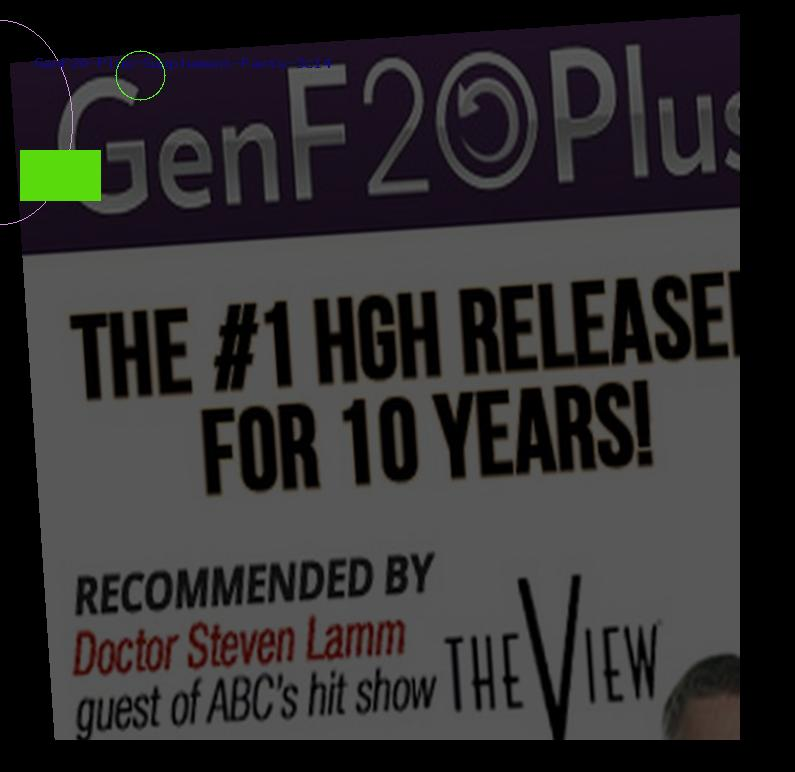 GenF20 Plus Supplement Facts